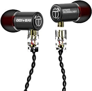 $20 » Sponsored Ad - TRN M10 Earphones 1DD 1BA Hybrid Driver Headphones, Senlee TRN in Ear Monitor with Metal Shell Detachable 0...