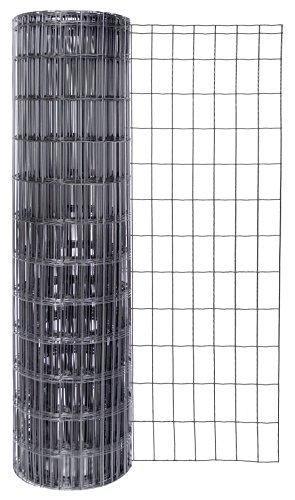 GAH-Alberts 604899 Schweißgitter Fix-Clip Pro® | verschiedene Längen und Höhen - wahlweise in verschiedenen Farben | anthrazit-metallic | Höhe 122 cm | Länge 25 m