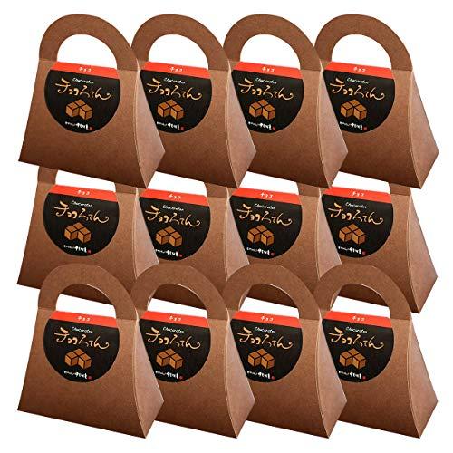 伊豆河童 チョコろてん 12個セット ダブルチョコ味 (カカオ入り角心太95g チョコソース12.5g×2 珈琲フレッシュ5g)×12 ホワイトデー 向け