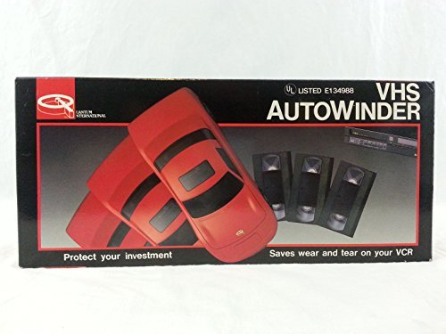 Quantum International C-5000UL VHS Rewinder, Red Sportscar