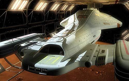 72Tdfc - Ölgemälde Malen Nach Zahlen Für Erwachsene - Star Trek Filmplakat - Anfänger Kreatives Gemälde Auf Leinwand 16X20 Inch