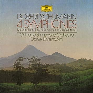 "Schumann: 4 Symphonies, ""Manfred""- Ouverture"