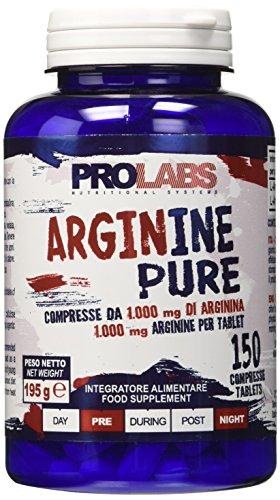 Prolabs Arginine Pure - Barattolo da 150 cpr