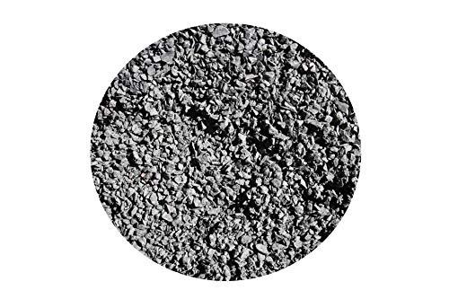 Basalt Fugensplitt/Verlegesplitt 1-3mm verpackt schwarz Naturstein (1x850Kg Big Bag)