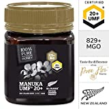 Pure New Zealand Manuka Honey - UMF 20+ Certified (MGO 829+) - 8.8