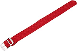FITYLE Premium Nylon Watch Strap Stainless Steel Pin Buckle Textile Band Replace