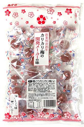 赤城フーズ 種とりカリカリ梅 1袋 250g(約30粒) (大粒) 業務用サイズ 熱中対策