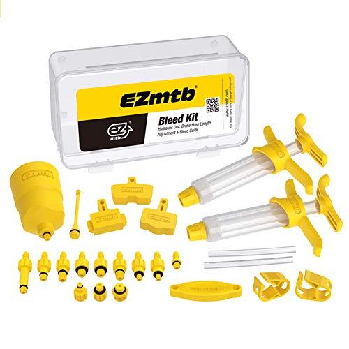 Eachbid 2021 EZmtb Kit de Purga de Frenos Hidráulicos de Frenos de Disco Mineral para Shimano, Magura, Tektro y Sram Series MTB, Universal Herramientas de Reparación de Frenos