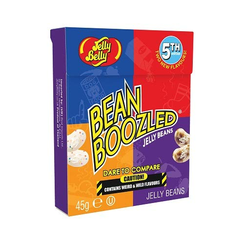 Jelly Belly BeanBoozled Jelly Beans, 4th Edition, 1.6-oz Flip Top Box, 24 Pack