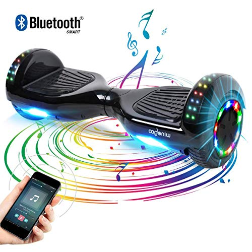 Windgoo Hoverboard 6.5' Balance Board Patinete Eléctrico Scooter Talla LED...