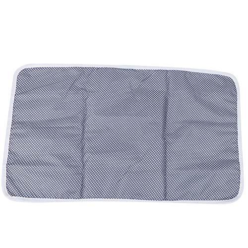 Almohadilla para orinal de bebé, colchoneta para cambiar pañales, ampliamente utilizada, reutilizable para la vida diaria del hogar del bebé, bebé (azul floral)