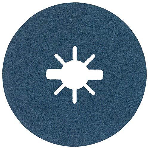 Bosch Professional Fiberslijpschijven Best (voor metaal, X-LOCK, R574, Ø125 mm, korrel 100, boringsØ: 22,23 mm)