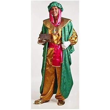 Disfraz de Rey Baltasar para hombre: Amazon.es: Juguetes y juegos