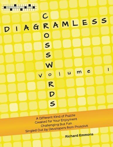 Diagramless Crosswords (Volume 1)
