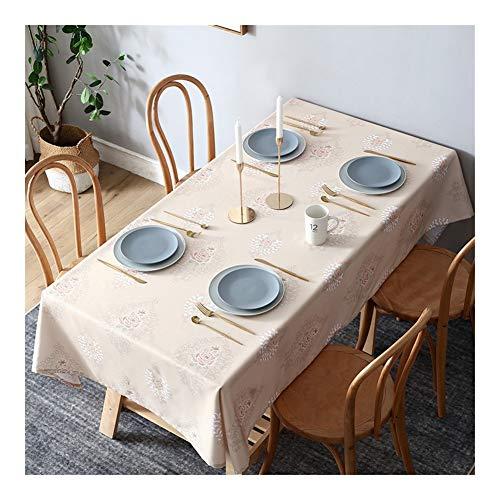 - Mantel de cocina rectangular antipolvo lavable, funda de mesa de aceite, impermeable, cocina, fácil de limpiar, Tablecloth impermeable y antisuciedad, 3#, 140*220cm