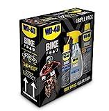 WD-40 Bike Fahrradpflegeset 1x Kettenspray Allwetter 250ml + 1x Reiniger 500ml + 1x Kettenreiniger 500ml