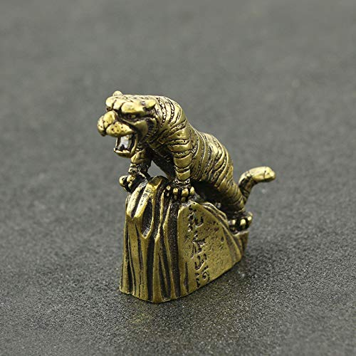 YOPDNE Juega con pequeños bronces y pequeños adornos para tragar montañas y ríos