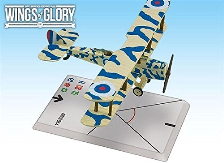 los últimos modelos Wings Of Glory - Avion Pack - Airco DH.4 DH.4 DH.4 coton   Betts Figura - AREWGF204B -. Ares by Ares Juegos  precio mas barato