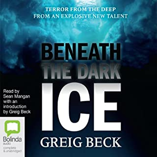 Beneath the Dark Ice audiobook cover art