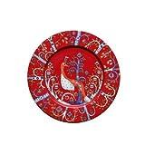 Iittala Taika Red Salad Plate 22cm by iittala Taika red