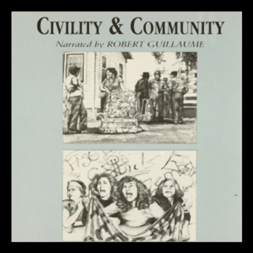 Civility and Community audiobook cover art