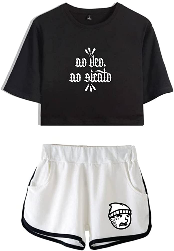 Tydres Gera MX 2 Piece Sets Hip Hop Short Sleeve Suit Womens Girl Set Casual Accessories Fashion Suit (BW-YM00722,S)