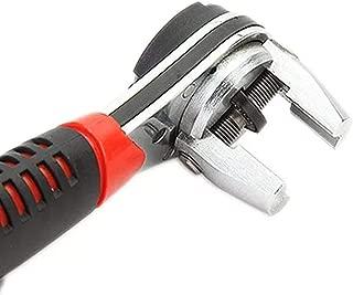 ZGQA-GQA Multifunction 6.35mm-22.2mm Adjustable Ratchet Wrench//Ratchet Spanner Chrome Vanadium High Torque Hardware Tool Kits
