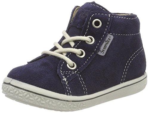 RICOSTA Jungen ZAYNI Hohe Sneaker, Blau (Nautic 175), 22 EU