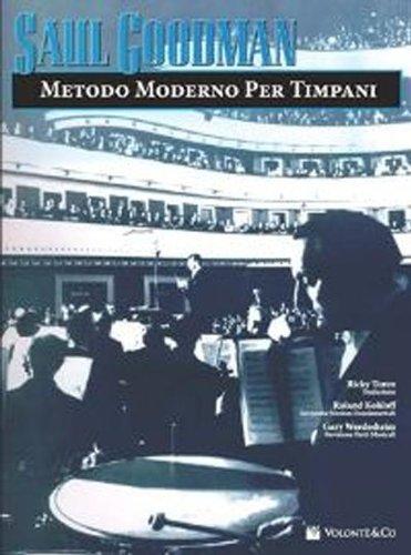 Metodo moderno per timpani