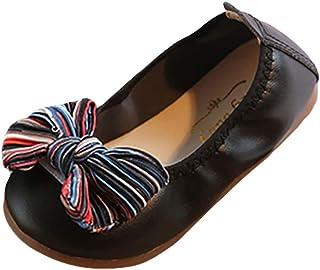 [洋子ちゃん_] 女の子ベビー靴 蝶結び 柔らかい 幼児の靴 赤ちゃん 靴ソフトボトム バタフライ ダンスシューズ エッグロールシューズ カジュアルシューズ 履き心地いい 滑り止め 出産お祝いプレゼント ギフト12ヶ月-3歳