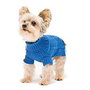 Stinky G Turtleneck Dog Sweater Royal Blue Size #12