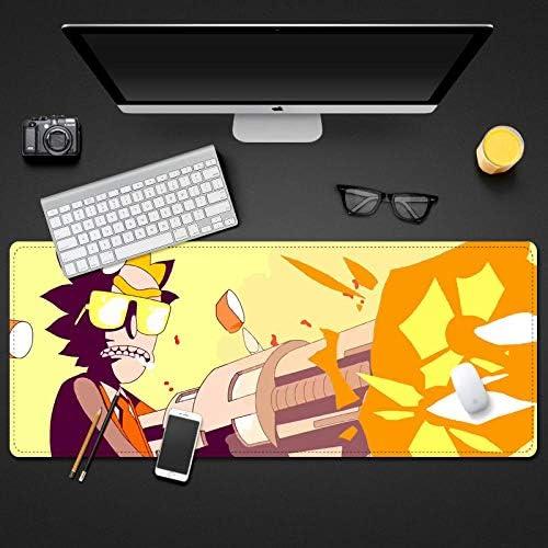 GamingMauspad 90 x 40 cm bruto ComputerMauspad OfficeDesktopTastatur und Mauspad rutschfeste Gummibasis wasserdichte N auml;hkanteD7003003MM