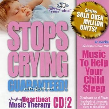 "Baby-Go-To-Sleep ""Stops Crying"" Heartbeat Nursery Songs"
