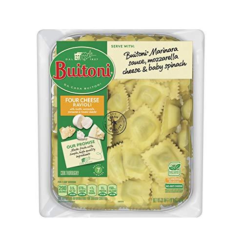 BUITONI Four Cheese Ravioli Refrigerated Pasta 20 oz....