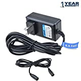PwrON (6.6FT Long Cable) New AC to DC Adapter for Dell DP/N 0C730C C730C AX510 Computer Sound Bar Speaker DC Power Supply Cord Cable Charger PSU with Female Jack Connector