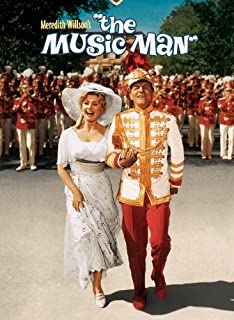 The Music Man Poster B 27x40 Robert Preston Shirley Jones Buddy Hackett