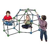 LANHA Kit da Costruzione per Bambini per Bambini Giocano a Giocattoli per Tende per Ragazzi e Ragazze per Costruire Castelli Fai da Te Tunnel Gioca a Tent Tower Dentro Fuori 69 e 158 Pezzi