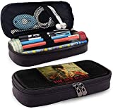 Fashion Devil May Cry 5 Leather Pencil-Case for Unisex One Size Black