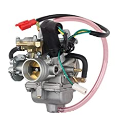 250CC Carburetor Fit for Honda CN250, CF250 CH250 Scooter, Mopeds, Fits Chinese 250cc Scooter, Moped, Go Karts, Compatible with: CH125 CH150 CH250 ELITE SCOOTER 250CC QUAD ATV SCOOTER 250 CA11 For Honda Helix CN250 CF250 Chinese Scooter Moped ATV Qua...
