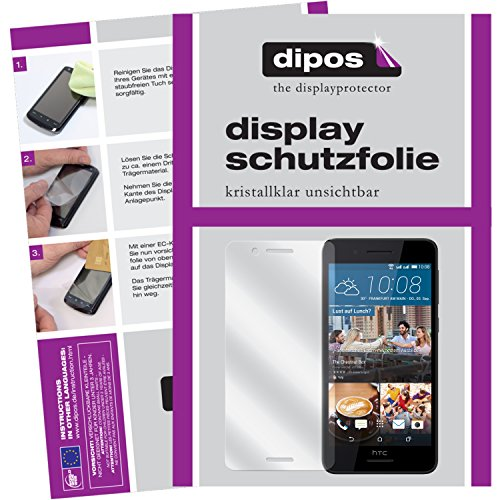 dipos I 6X Schutzfolie klar kompatibel mit HTC Desire 728G Folie Bildschirmschutzfolie