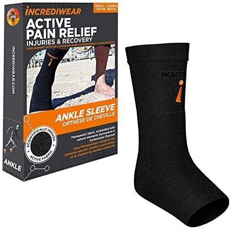 Incrediwear Ankle Sleeve Black Small Medium product image
