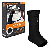Incrediwear Ankle Sleeve - Ankle Brace for Women and Men for Joint Pain, Swelling & Inflammation, Ankle Support for Working Out, Running and Joint Pain Relief (Black, Large)