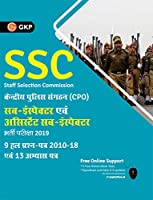 SSC CPO 2019 Sub-Inspector & Assistant Sub-Inspector Paper I - 9 Solved Papers (2010-18) & 13 Practice Papers