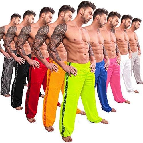 C.P. Sports Fitnesshose, S9, Bodybuilding, Krafttraining, Yoga für Damen und Herren, Gym Sporthose, Schwarz, M / 6 = 50