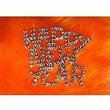 ポストカード 「クリスマス」 レトロ/チープ 08 Happy New Yaer