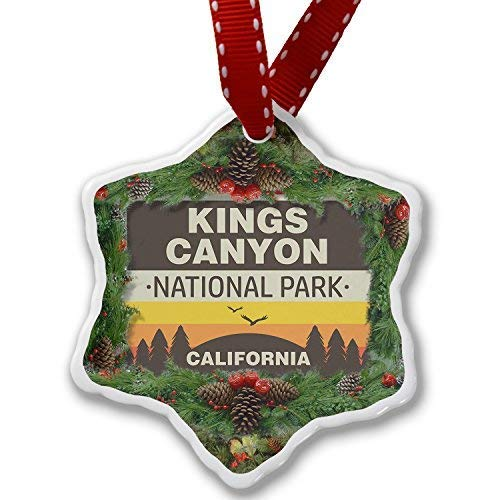 Montrwie Christmas Ornament National Park Kings Canyon