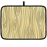 Alfombrilla para secar platos para cocina Bois, grano de madera...