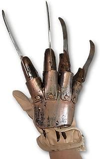 Unisex-Adults Deluxe Freddy Glove, Brown, Standard