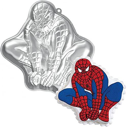 Backform Spiderman Super hero, Kinder Geburtstag 3D-Kuchenform