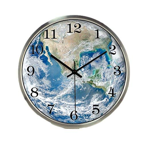 YUXO Relojes De Pared Reloj de Pared Mudo luz de Noche Fuerte Mesa ...